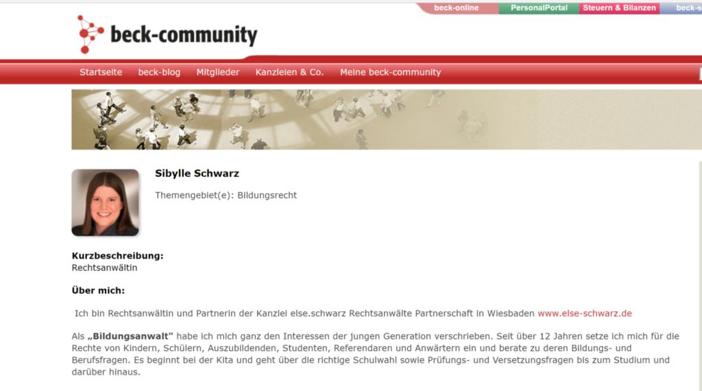 Blog-Expertin Sibylle Schwarz
