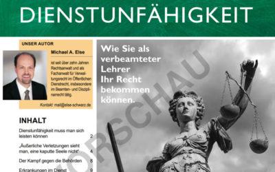 Streitfall Dienstunfähigkeit – News4teachers Dossier